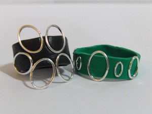 Black And Green Sugru Rings
