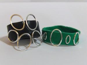 Black And Green Sugru Rings